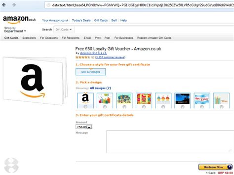amazon fake card gift emails warned complimentary customers scam