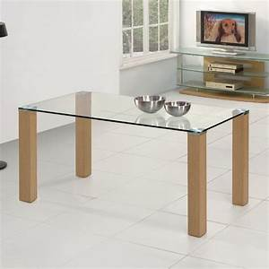 table metal bois salle manger myqtocom With meuble salle À manger avec table salle a manger bois et verre