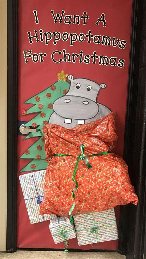 christmas door decorating contest ideas