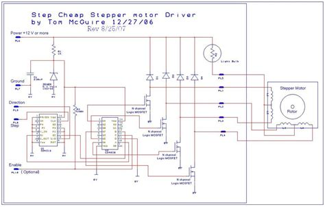 Easy Build Cnc Mill Stepper Motor Driver Circuits
