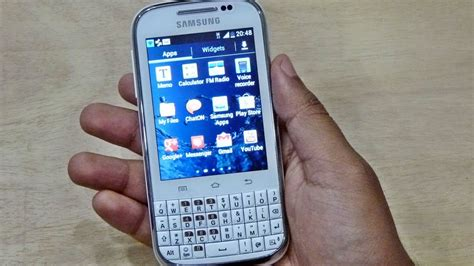samsung galaxy chat b5330 unboxing review hd gadgets portal exclusive youtube
