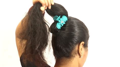 beautiful juda hairstyles  minute khud se juda kaise