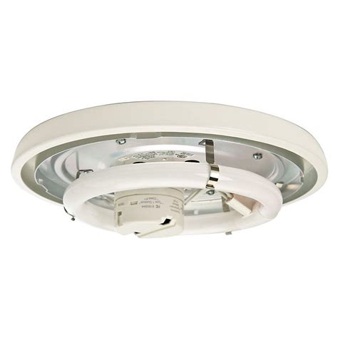 casablanca snow white cfl low profile fitter with circline