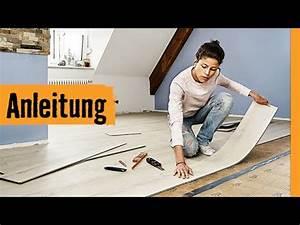 Klick Parkett Verlegen : klick vinyl verlegen hornbach meisterschmiede youtube ~ Watch28wear.com Haus und Dekorationen