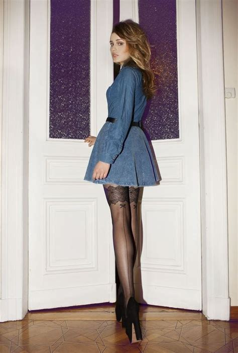 Stockings Nylons Pantyhose Winter Outfits Pinterest