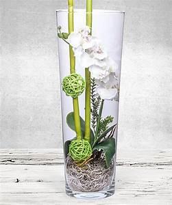 Deko Für Bodenvase : deko vase orchidee wei jetzt bestellen bei valentins valentins blumenversand blumen und ~ Indierocktalk.com Haus und Dekorationen