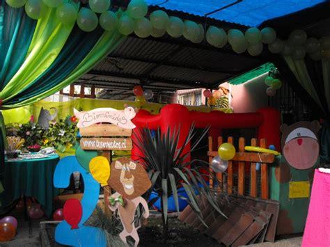 decoracion animalitos selva