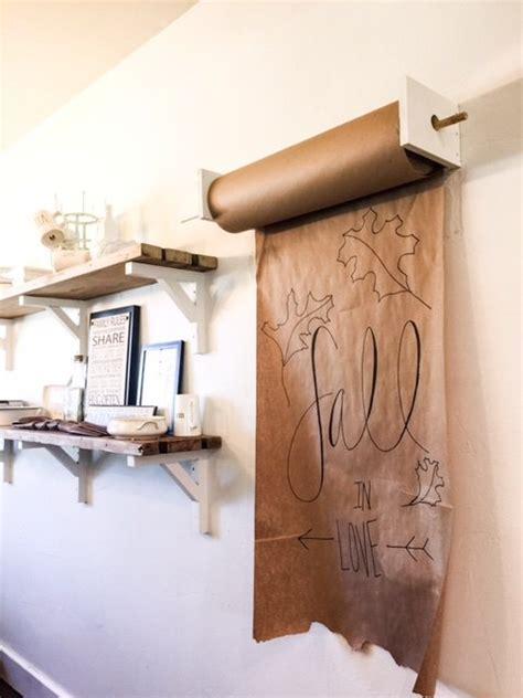 DIY Mounted Craft Paper Roll   Hometalk