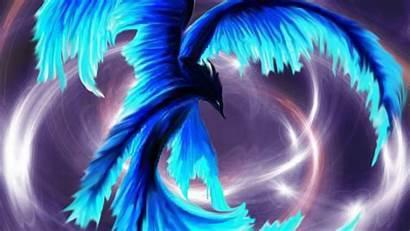 Phoenix Ice Wallpapers Computer Deviantart Desktop Birds