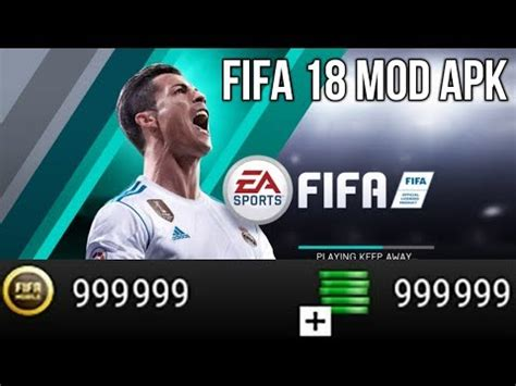 fifa 18 mobile soccer apk mod 10 1 00 hack cheats android no root dls 2018 mod money