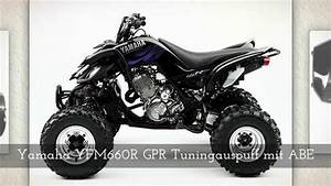 Yamaha Banshee Auspuff : yfm660r yamaha quad auspuff gpr youtube ~ Jslefanu.com Haus und Dekorationen