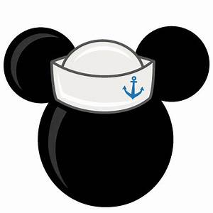 Mouse Head With Sailor Hat Freebies Free SVG files for ...