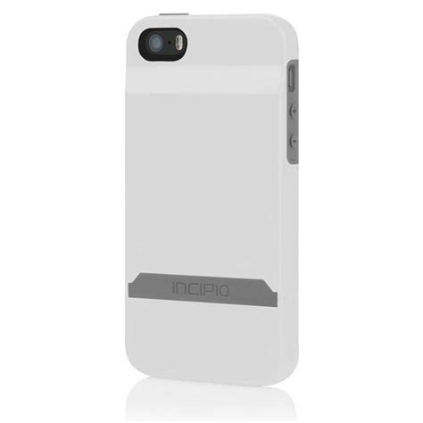 Caseme 003 for iphone 6/ 6s plus magnetic premium flip pu case wallet stand cover with cash and card slots. The White / Gray Incipio STASHBACK™ Dockable Credit Card Case for iPho - DesignSkinz