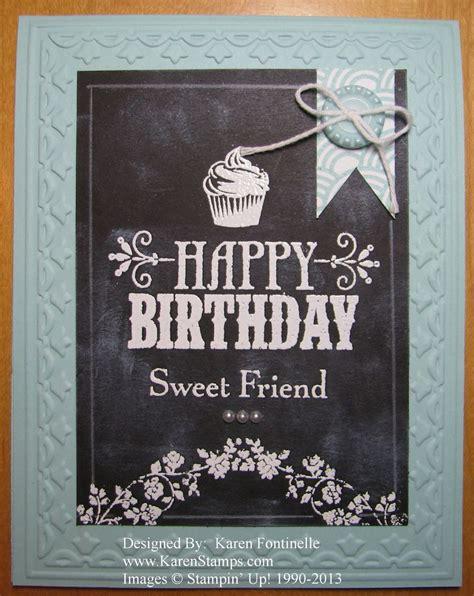 birthday chalkboard chalkboard technique birthday card for a friend sting with