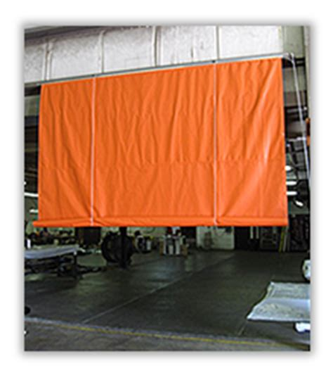 industrial roll up curtains roll up guard mobile