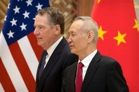 U S and China Expected to Meet for Trade Talks as