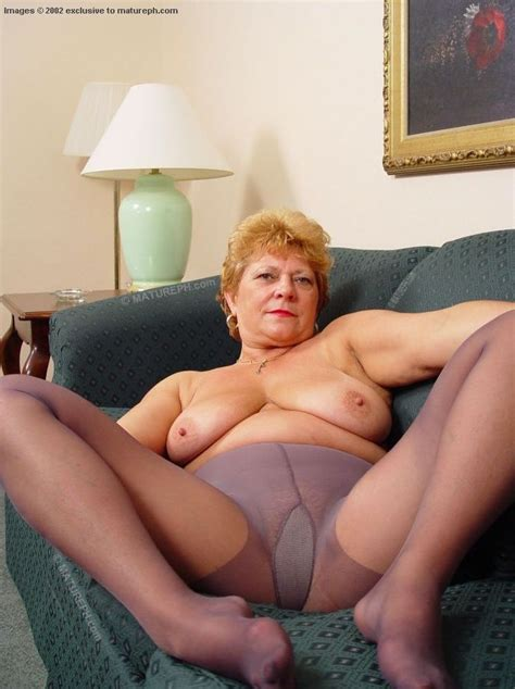 archive of old women granny in pantyhose