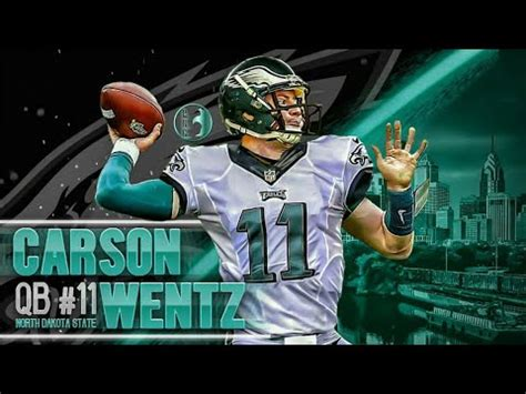 carson wentz highlights rockstar youtube