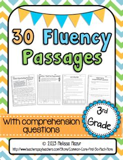 reading fluency passages fiction and nonfiction a