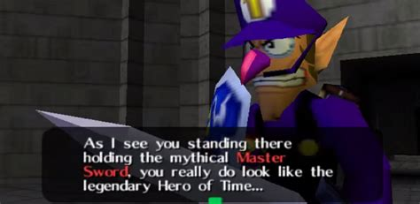 finally play ocarina  time  waluigi