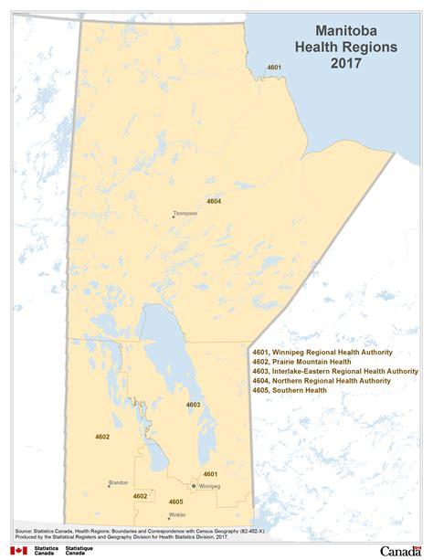 map  manitoba health regions
