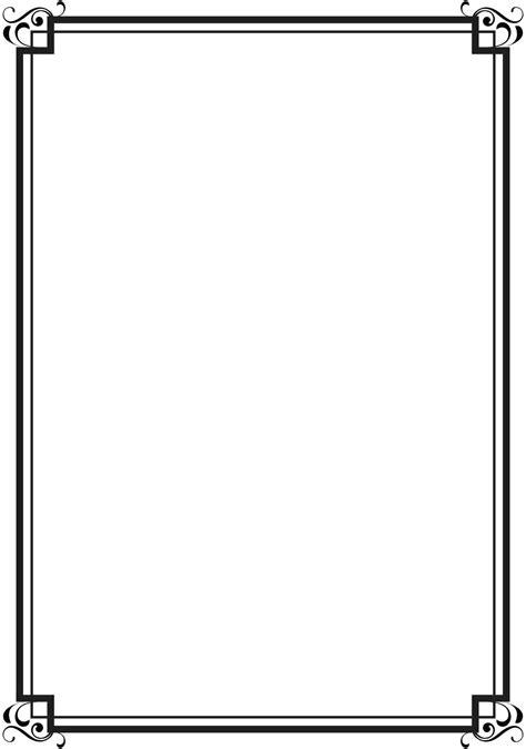 template certificate border design template black