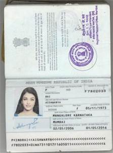 TOEFL exam without Passport
