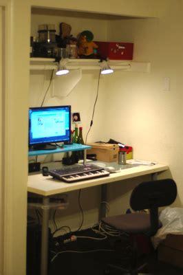 Floating computer desk   IKEA Hackers   IKEA Hackers