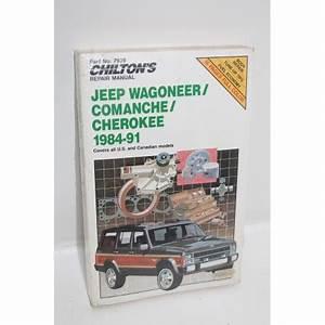 Garage En Anglais : manuel de r paration jeep wagoneer comanche cherokee de 1984 1991 en anglais vintage garage ~ Medecine-chirurgie-esthetiques.com Avis de Voitures