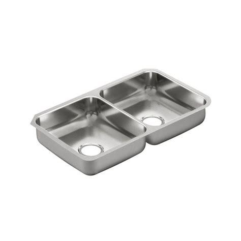 moen undermount kitchen sinks moen 2000 series undermount stainless steel 32 in 7841