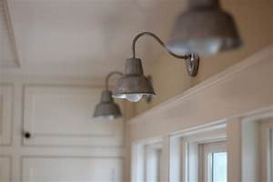 barn wall sconces chandelier add to fresh farmhouse feel With barn style bathroom lighting