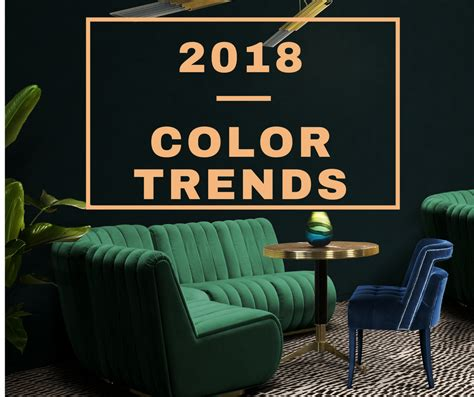 mid century modern decorating see the top interior design colour trends for 2018 you