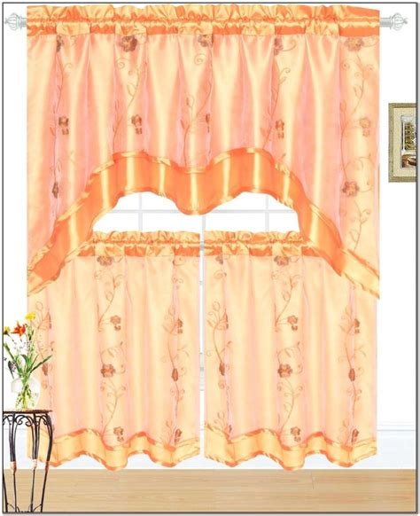 livingroom valances jcpenney kitchen curtain stylish drape for cooking space