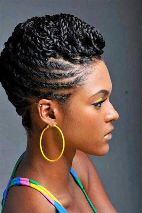 Black Updo Braids Hairstyles by Braids For Black With Hair