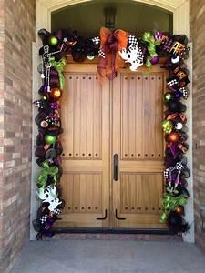 Halloween, Door, Garland