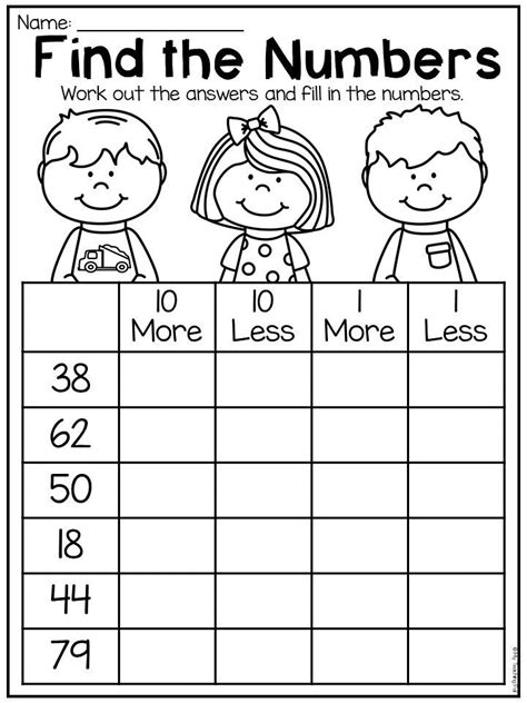 grade numbers  place  worksheets distance