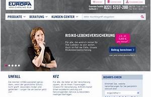 Lvm Autoversicherung Online Berechnen : europa versicherung online berechnen und vergleichen ~ Themetempest.com Abrechnung