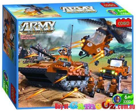 cogo building blocks army set