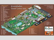 Map Everglades Wonder Gardens