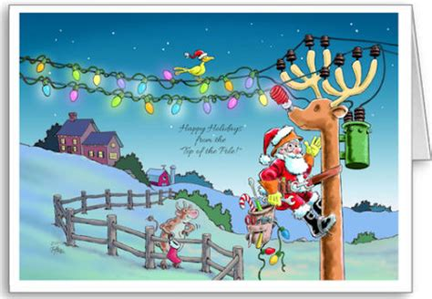 tnt rudy transformed christmas cards  electrician