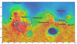 NASA Selects Four Potential Mars Landing Sites for InSight ...