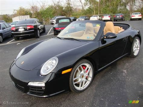 porsche 911 convertible black 2010 black porsche 911 carrera s cabriolet 21367832