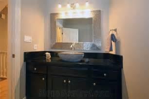 absolute black granite bathroom countertop from canada