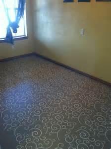 Concrete Painted Floors Stencils