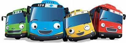 Tayo Bus Cartoon Gambar Team Transparent Goodies
