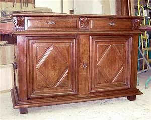 restauration meuble ancien en noyer bahut louis xiii en With meuble louis xiii