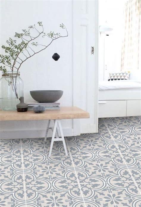 Fliesenaufkleber Fußboden by Vinyl Floor Tile Sticker Floor Decals Carreaux Ciment