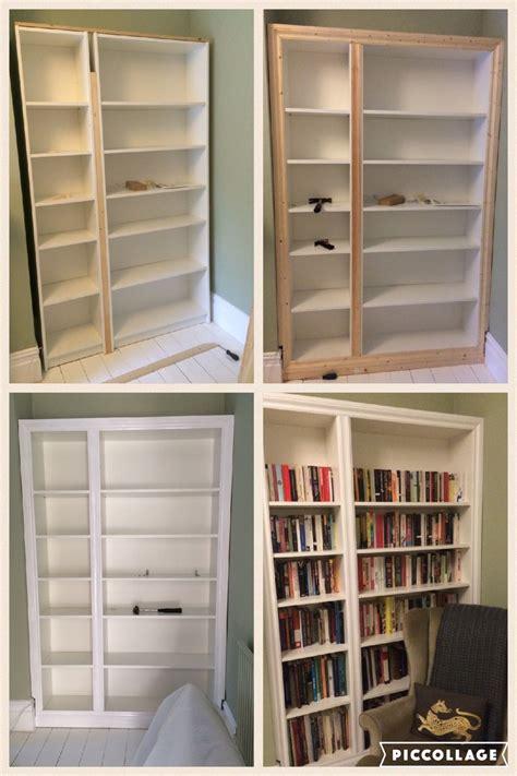 Ikea Hacks Billy by Ikea Hack Billy Bookcase Modified To Look Like Built In