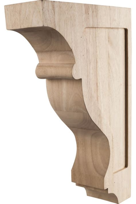 Traditional Wood Corbels by Rubberwood Transitional Traditional Corbels Traditional