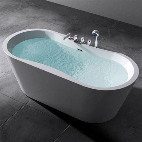 freistehende acryl badewanne freistehende badewanne wanne standbadewanne armatur 180 x 80 vicenza 602 neu ebay